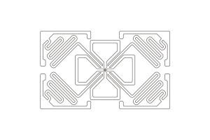 50x30mm M4 UHF Dry Inlay