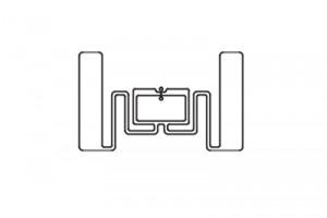 50x30mm U8 UHF FRID Dry Inlay