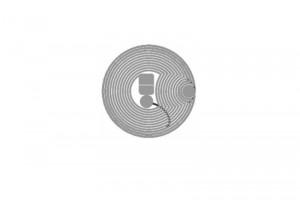D=15mm Ntag RFID HF Dry Inlay