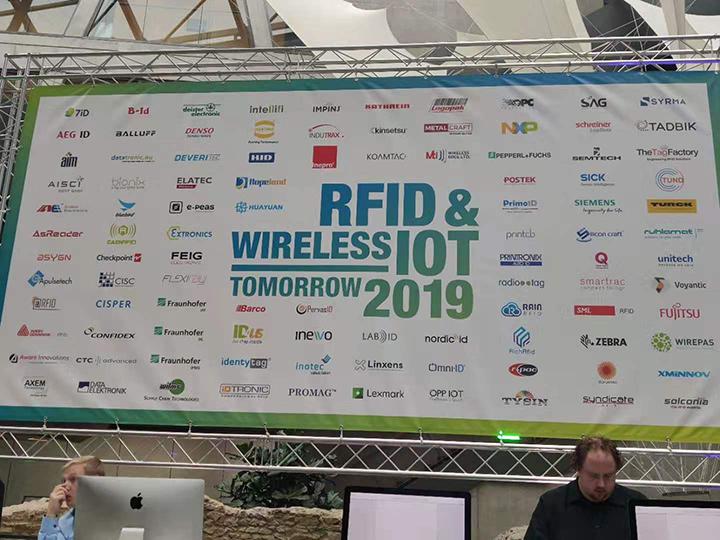 Shenzhen RICH RFID Successful Exibition at RFID & Wireless IoT tomorrow 2019