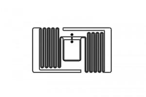 22×12.5mm  R6P RFID UHF Dry Inlay