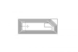 26x11mm Ntag RFID HF Dry Inlay