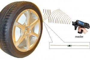 RFID UHF Embedded Tire Tag  RC9020