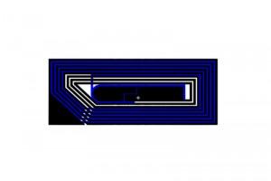 26x11mm F08 RFID HF Dry Inlay