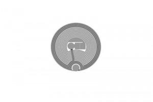 D=22mm ICODE RFID HF Dry Inlay