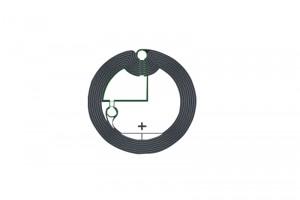 D=27mm F08 RFID HF Dry Inlay