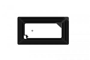 76x45mm F08 RFID HF Dry Inlay