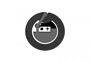D=25mm F08 RFID HF Dry Inlay