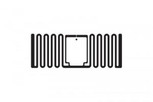 40x15mm U8 RFID UHF Dry Inlay