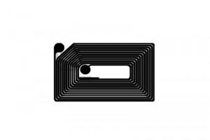 34x22mm ICODE RFID HF Dry Inlay