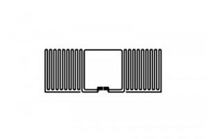 27x10mm U8 UHF RFID Dry Inlay