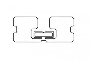 72x30mm U8 UHF Dry Inlay