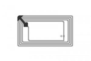 76x45mm Ntag RFID HF Dry Inlay